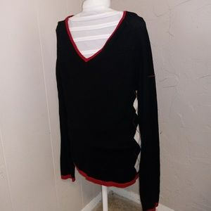 Burberry golf sweater size large